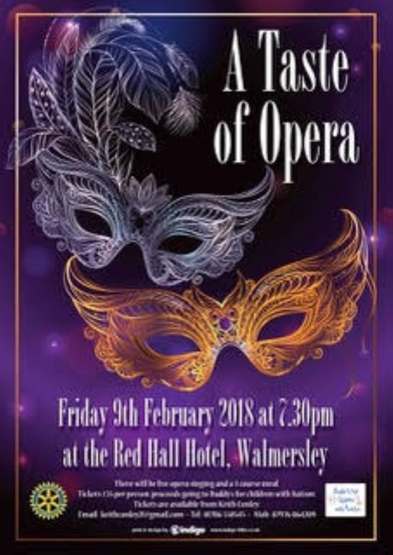 Our Opera Night, for Buddies for Children with Autism